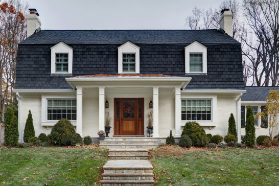 F renovations portfolio studio z design concepts for Mansard roof pros and cons